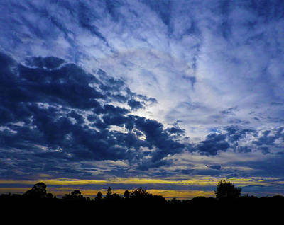 Photograph - Cold Sunset by Mark Blauhoefer