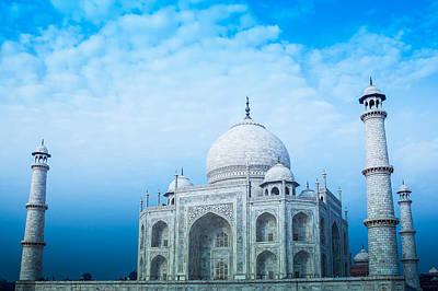 Photograph - Cold Taj by Nila Newsom
