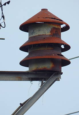 Photograph - Cold War Civil Defense Siren In New Olreans by Michael Hoard