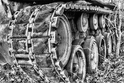 Cold War Rust Black And White Art Print
