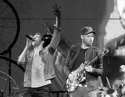 Coldplay Photograph - Coldplay 14 by Rafa Rivas
