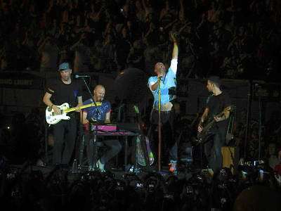 Coldplay Photograph - Coldplay 6 by Luisa Gatti