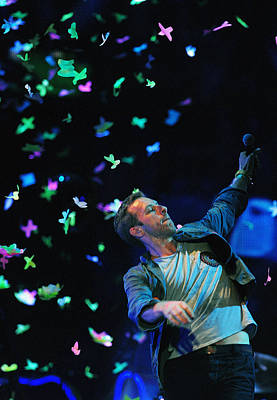 Coldplay Photograph - Coldplay1 by Rafa Rivas