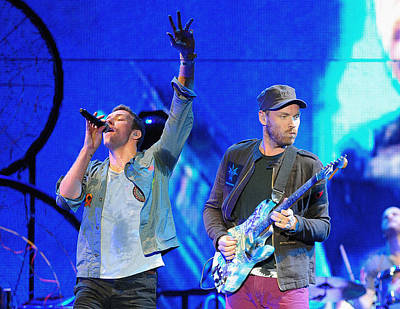 Coldplay Photograph - Coldplay6 by Rafa Rivas