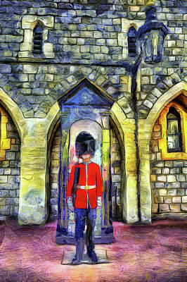 Photograph - Coldstream Guard Art by David Pyatt