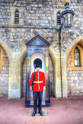 Photograph - Coldstream Guard by David Pyatt
