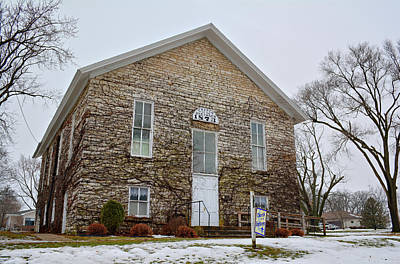 Photograph - Coldwater Church Of The Brethren by Bonfire Photography
