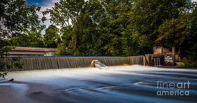 Cartoons Tees - Colebrook Falls by Roger Monahan