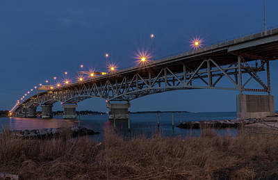 Photograph - Coleman At Night by Jerry Gammon