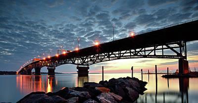 Photograph - Coleman Bridge Reflections by Jamie Pattison