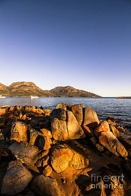 Coles Bay Tasmania Art Print by Jorgo Photography - Wall Art Gallery