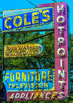 Photograph - Coles Furniture Co Lincoln Ave Dsc4097  by Raymond Kunst