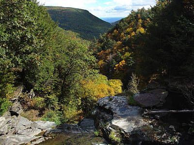 Photograph - Cole's Roost The Kaaterskill Clove by Terrance De Pietro