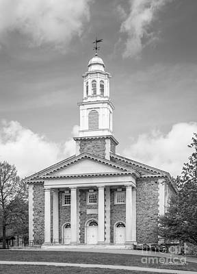 Colgate University Chapel House Art Print by University Icons
