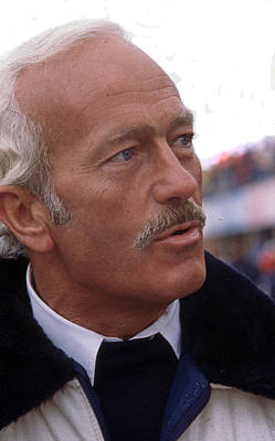 Colin Chapman Photograph - Colin Chapman Of Lotus Fame by Mike Flynn