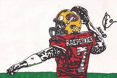 Colin Kaepernick Drawing - Colin Kaepernick 1 by Jeremiah Colley