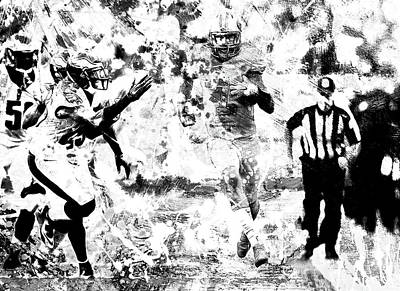 Colin Kaepernick Mixed Media - Colin Kaepernick 4c by Brian Reaves