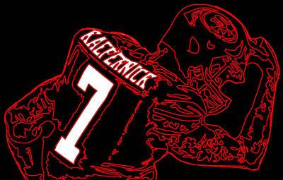 Colin Kaepernick Digital Art - Colin Kaepernick by Michael Bergman