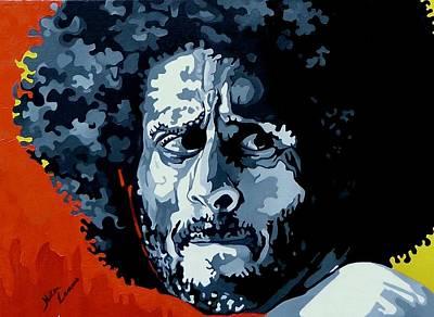Colin Kaepernick Painting - Colin Kaepernick by Netsa Lemma