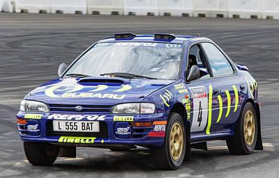 Subaru Impreza Photograph - Colin Mcrae's Subaru Impreza by James Aldebert