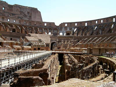 Coliseum 2 Art Print by Blima Efraim