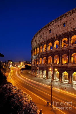 Coliseum At Twilight Art Print by Brian Jannsen
