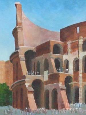 Painting - Coliseum by Claire Gagnon