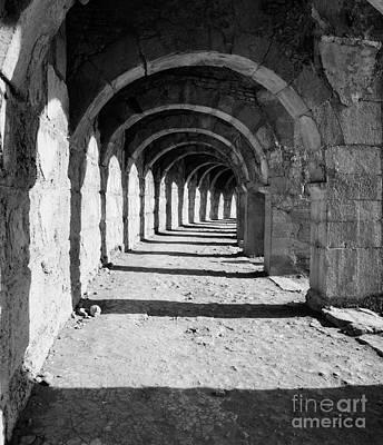 Photograph - Coliseum Corridor by Glennis Siverson