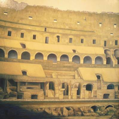 Coliseum Floor Art Print