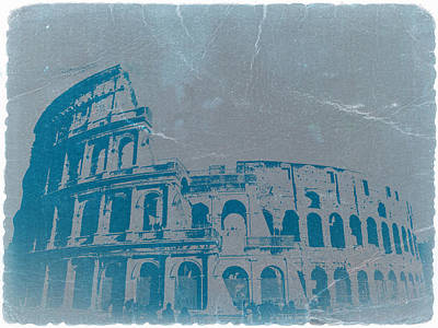 Europe Digital Art - Coliseum by Naxart Studio