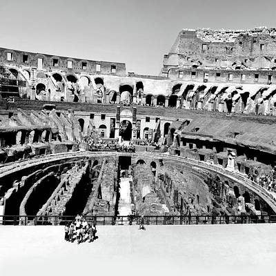 Photograph - Coliseum Rome by Gina Dsgn