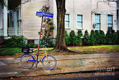 Photograph - Coliseum-washington Bicycle by Craig J Satterlee