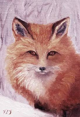 Painting - Colista's Fox by Teresa Lynn Johnson