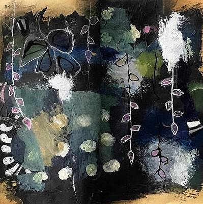 Painting - Collaboration With A Mouse by Susan McCarrell