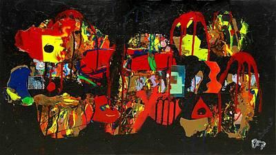Collage 1 Art Print by Paul Freidin