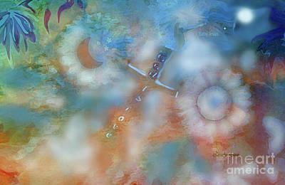 Digital Art - Collage Art God Is Love by Sherri Of Palm Springs