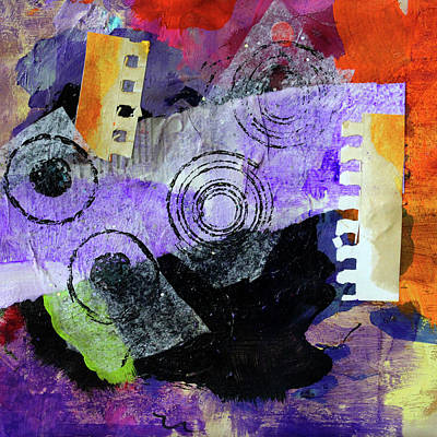 Mixed Media - Collage No 1 by Nancy Merkle