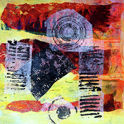 Mixed Media - Collage No. 3 by Nancy Merkle