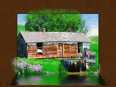 Art Print featuring the photograph Collage by Susan Kinney
