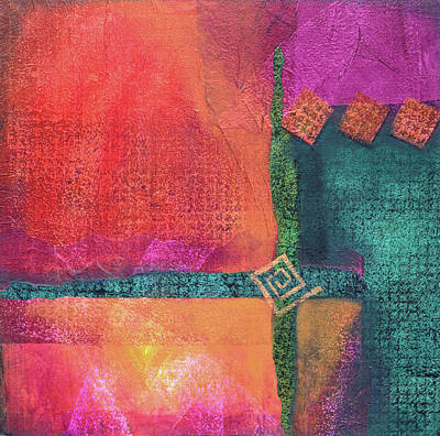 Wall Art - Mixed Media - Collage-three by Jane Dill