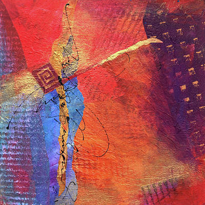 Wall Art - Mixed Media - Collage-two by Jane Dill