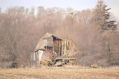 Photograph - Collapsed by Bonfire Photography