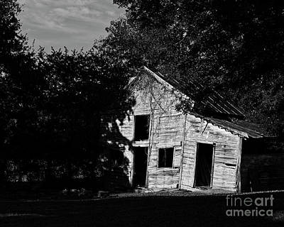 Photograph - Collapsing Barn by Patrick M Lynch