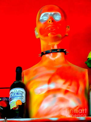 Digital Art - Collared Carl by Ed Weidman