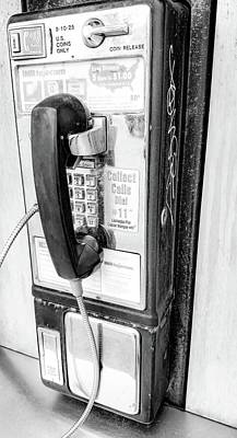 Photograph - Collect Calls by Bruce Carpenter