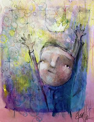 Painting - Collecting Joy by Eleatta Diver