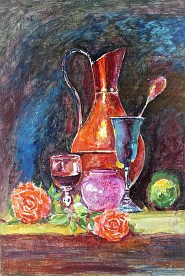 Painting - Collection by Khalid Saeed