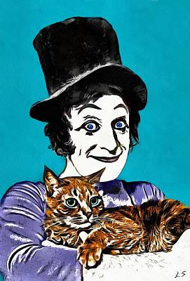 Drawing - Collection Marcel Marceau - 1 by Sergey Lukashin