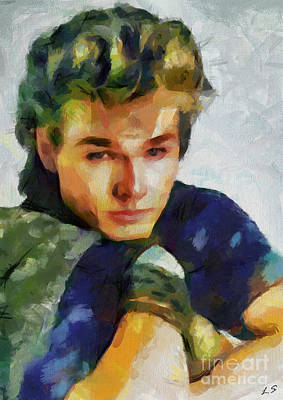 Drawing - Collection Morten Harket - 1 by Sergey Lukashin