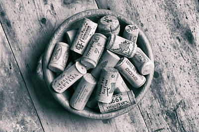 Photograph - Collection Of Corks. by David Hare